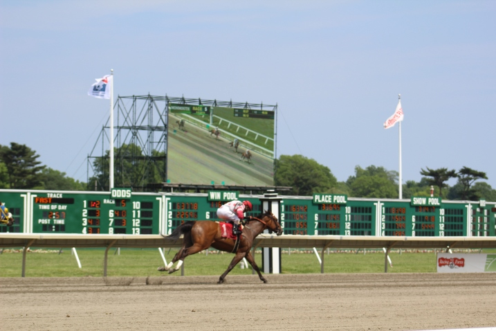 Monmouth Park Racektrack, Oceanport, NJ, June 9, 2018. (Photo/Christopher Lang)